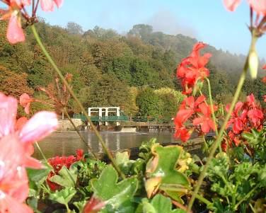 Riverside holiday gite near baud and Pontivy central brittany morbihan pontivy